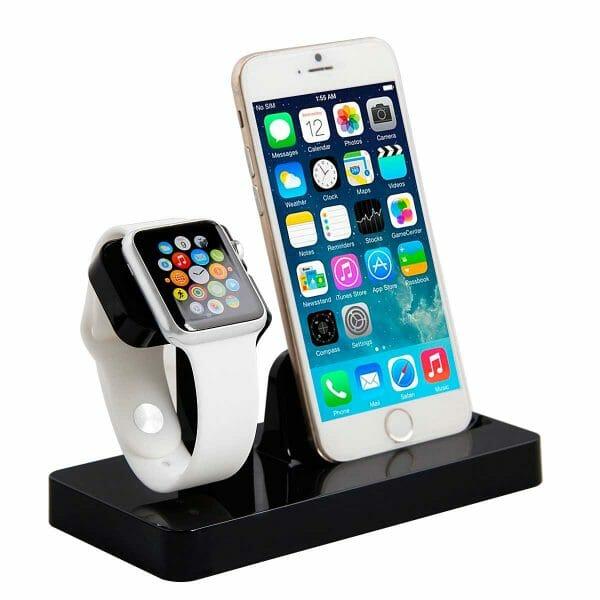 2 in 1 Apple Watch Standaard Iphone houder-004