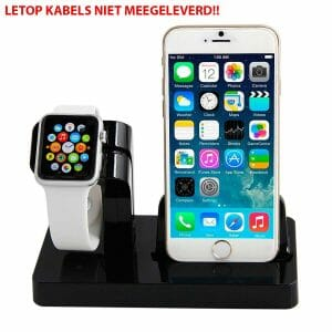 2-in-1-Apple-Watch-Standaard-Iphone-houder-zwart-1003
