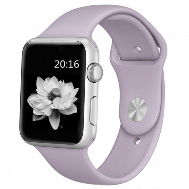 Apple watch band lavender000
