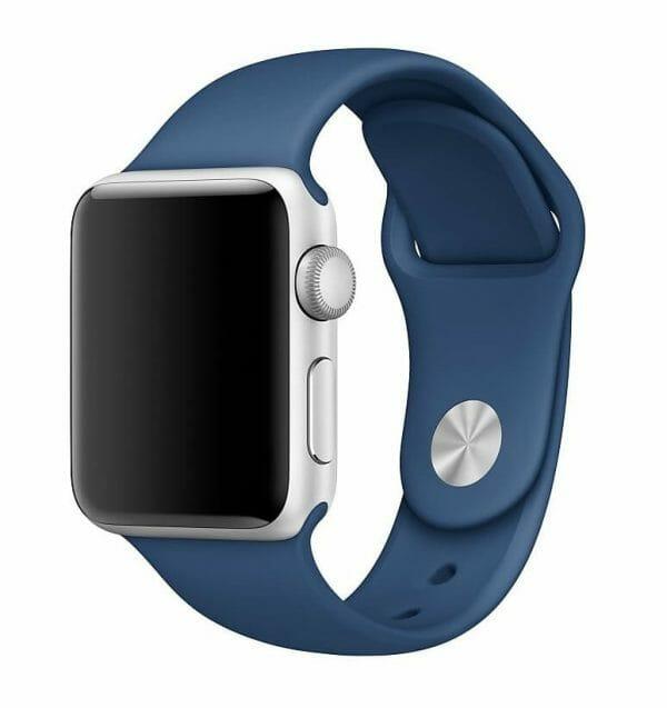 Apple watch bandje ocean blue 007