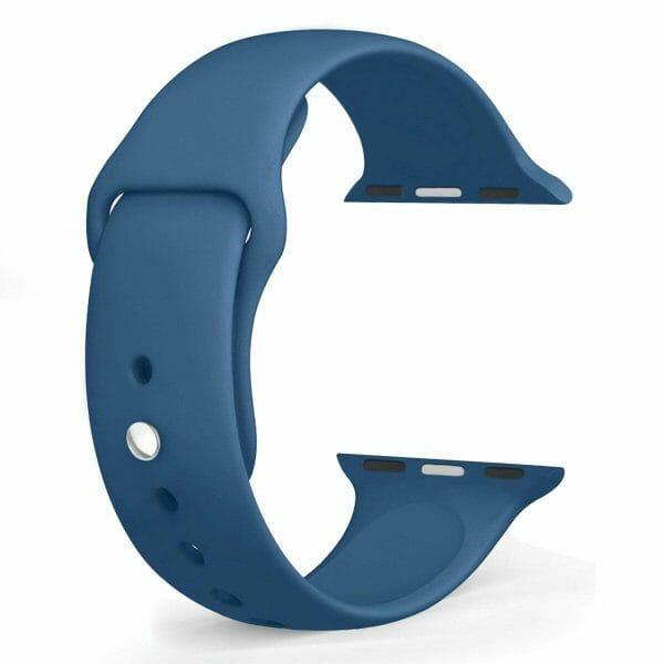 Apple watch bandje ocean blue 008