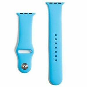 Apple watch bandjes - Apple watch rubberen sport bandje - blauw -009