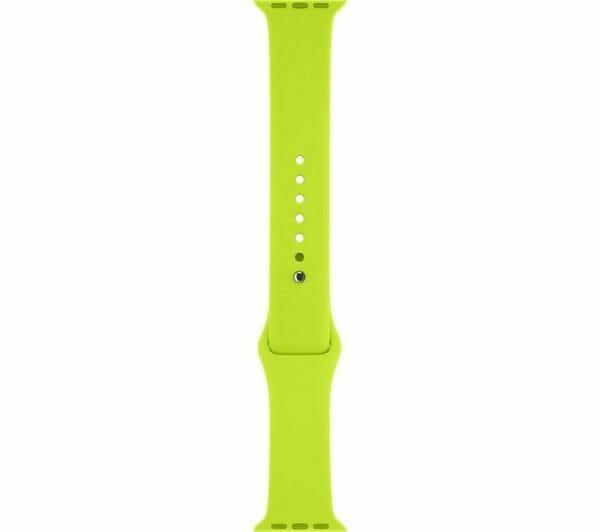 Apple watch bandjes - Apple watch rubberen sport bandje - groen 006