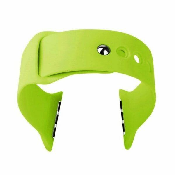Apple watch bandjes - Apple watch rubberen sport bandje - groen 009