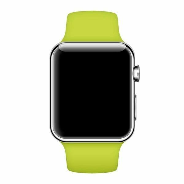 Apple watch bandjes - Apple watch rubberen sport bandje - groen-011