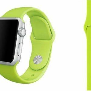 Apple watch bandjes - Apple watch rubberen sport bandje - groen