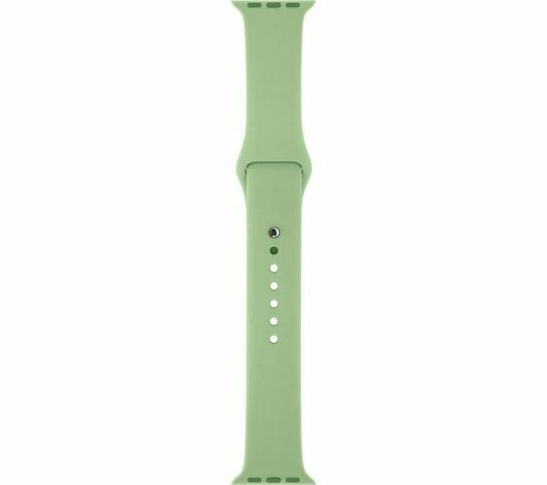 Apple watch bandjes - Apple watch rubberen sport bandje - mint-001