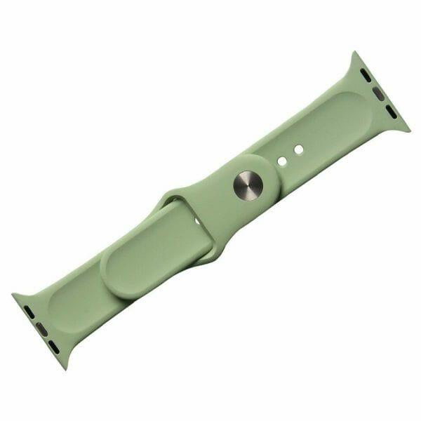 Apple watch bandjes - Apple watch rubberen sport bandje - mint-005