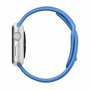 Apple watch bandjes - Apple watch rubberen sport bandje - royal blue-0041