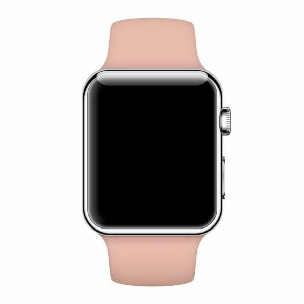 Apple watch bandjes - Apple watch rubberen sport bandje - roze-003