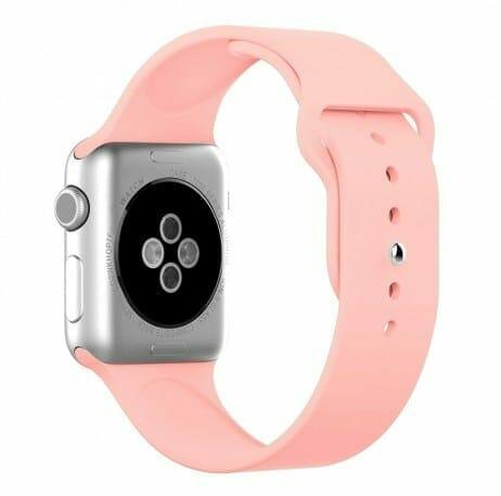 Apple watch bandjes - Apple watch rubberen sport bandje - roze-007