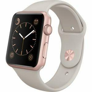 Apple watch bandjes - Apple watch rubberen sport bandje - stone-002