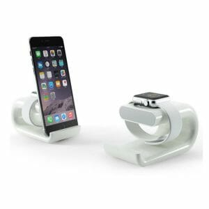 Apple watch stand Iphone houder - wit-002