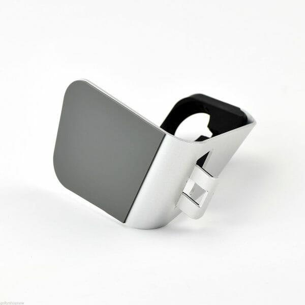 Apple watch stand hoog - Zilver-007