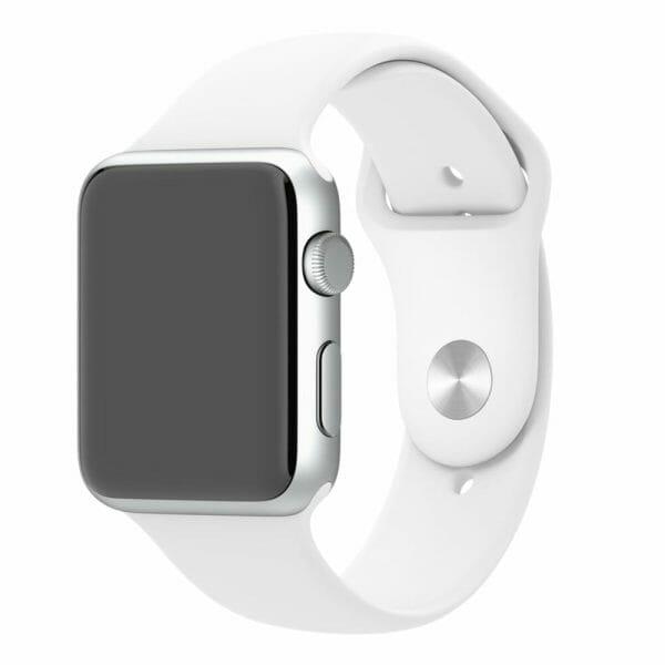 Apple watch bandjes 38mm sport bandje M/L - Wit