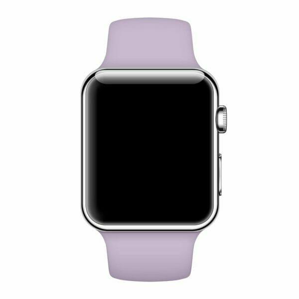 Rubberen sport bandje voor de Apple Watch paars-003