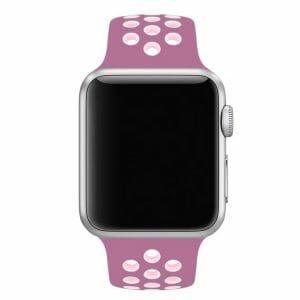 sport bandje voor de Apple Watch- Lavendel Lichtroze-001