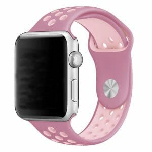 sport bandje voor de Apple Watch- Lavendel Lichtroze-002