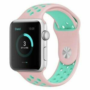 sport bandje voor de Apple Watch-Rose Aqua-001