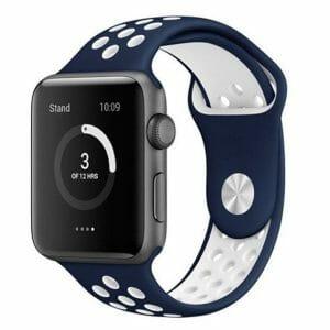 sport bandje voor de Apple Watch-blauw-wit-004