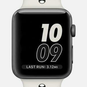 sport bandje voor de Apple Watch-wit-zwart-005