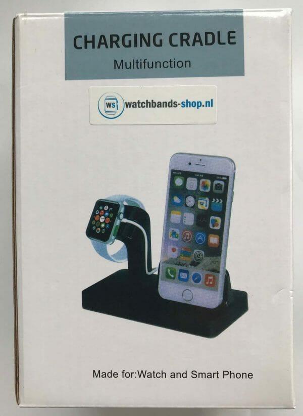 2 in 1 Apple Watch Standaard Iphone houder-0011