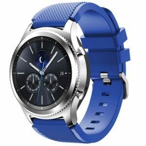 Bandje Voor de Samsung Gear S3 Classic Frontier blauw-003