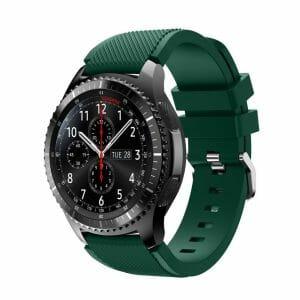 Bandje Voor de Samsung Gear S3 Classic Frontier donker groen-003