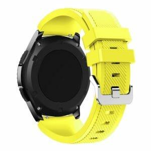 Bandje Voor de Samsung Gear S3 Classic Frontier-geel-001
