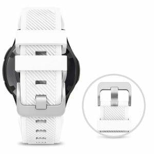 Bandje Voor de Samsung Gear S3 Classic Frontier wit-005