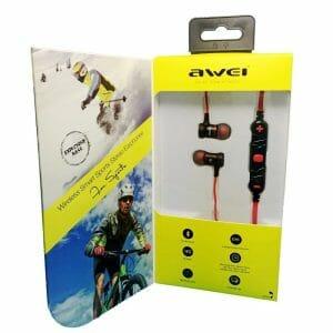 Awei A920BL Wireless Bluetooth 4.1 Sport Stereo Earphone - Goud In-ear oordopjes koptelefoon-002