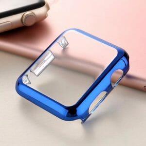 Case Cover Screen Protector blauw 4H Protected Knocks Watch Cases voor Apple watch voor iwatch 2-001