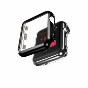 Case Cover Screen Protector zwart 4H Protected Knocks Watch Cases voor Apple watch voor iwatch 2-006