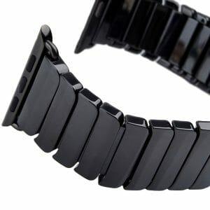 Keramische vervangend bandje voor Apple Watch iwatch Series 1-2-3 42mm zwart-004