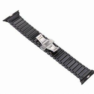 Keramische vervangend bandje voor Apple Watch iwatch Series 1-2-3 42mm zwart-012