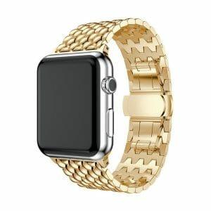 RVS goud metalen bandje armband voor de Apple Watch iwatch-003
