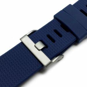 Luxe Siliconen Bandje voor FitBit Charge 2 – blauw-005