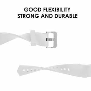Luxe Siliconen Bandje voor FitBit Charge 2 – wit-004