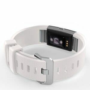 Luxe Siliconen Bandje voor FitBit Charge 2 – wit-012