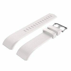 Luxe Siliconen Bandje voor FitBit Charge 2 – wit-013