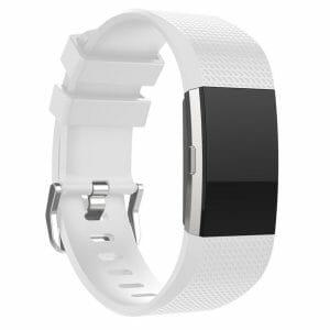 Luxe Siliconen Bandje voor FitBit Charge 2 – wit-015