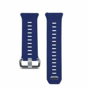 Luxe Siliconen Bandje voor FitBit Ionic – donker blauw-003