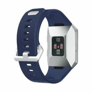Luxe Siliconen Bandje voor FitBit Ionic – donker blauw-007