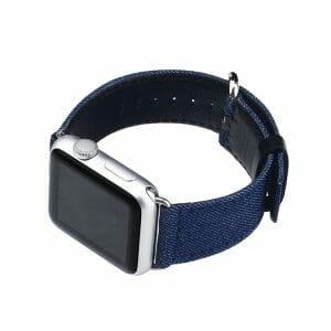 Denim bandje blauw met klassieke gesp voor Apple Watch 42mm-014