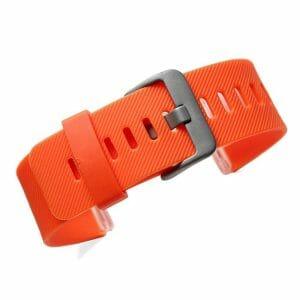 Luxe Siliconen Bandje large voor FitBit Blaze – oranje_004