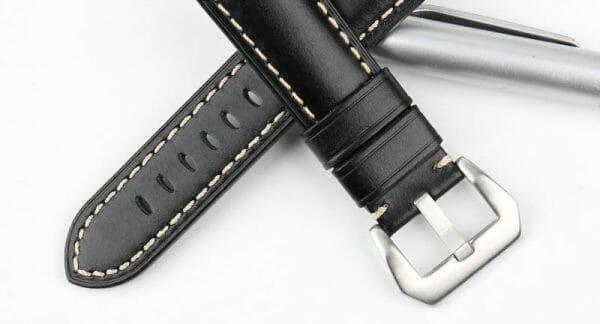 Samsung Gear S3 Leren Bandje zwart voor de Samsung Gear S3 Classic-003
