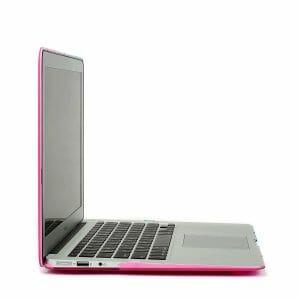 Cover Rainbow case Apple MacBook Air 11 inch - blauw - roze A1465 - A1370 (2012- 2018)_006