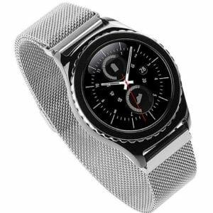 Samsung Gear S2 bandje milanese loop zilver_005