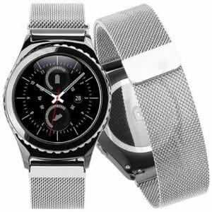 Samsung Gear S2 bandje milanese loop zilver_006