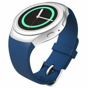 Samsung Gear S2 bandje silicone blauw_009